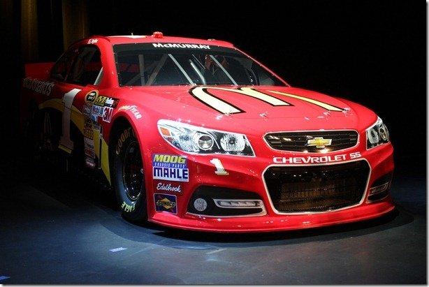 Chevrolet SS está pronto para a NASCAR