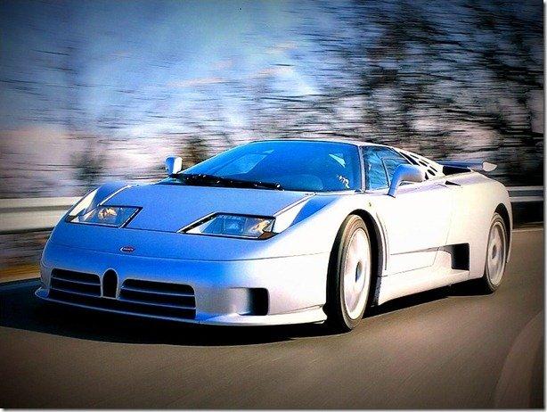 Bugatti EB 110 SS – O Monstro castigado