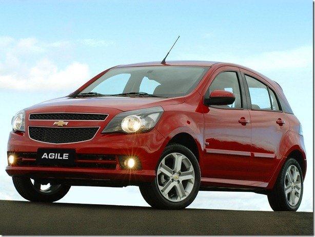 Chevrolet convoca recall para Agile e Montana
