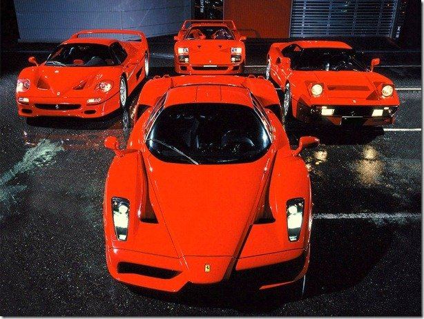Eu não teria uma Ferrari, não no Brasil
