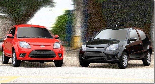 Ford Ka 2013 tem nova tecnologia de pintura e novas cores