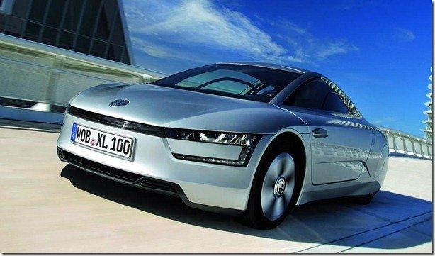 Ainda parece conceito, mas este é o Volkswagen XL1 de produção