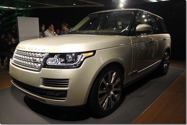 Novo Range Rover Vogue tem evento de pré-lançamento no Rio de Janeiro