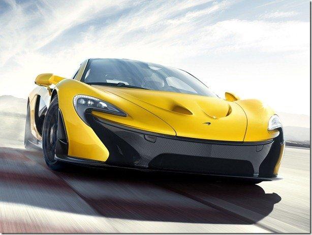 McLaren P1 agora em imagens definitivas