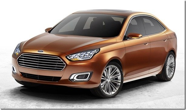 Ford Escort renasce na China como conceito