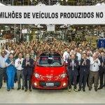 Fiat ultrapassa marca de 13 milhões de veículos fabricados em Betim