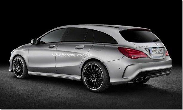 Mercedes CLA terá versão perua