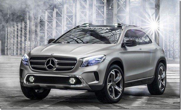 Mercedes revela imagens do GLA Concept