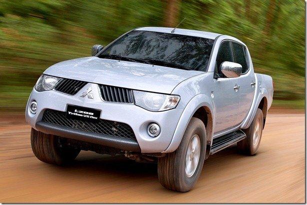 Mitsubishi anuncia recall para a picape L200