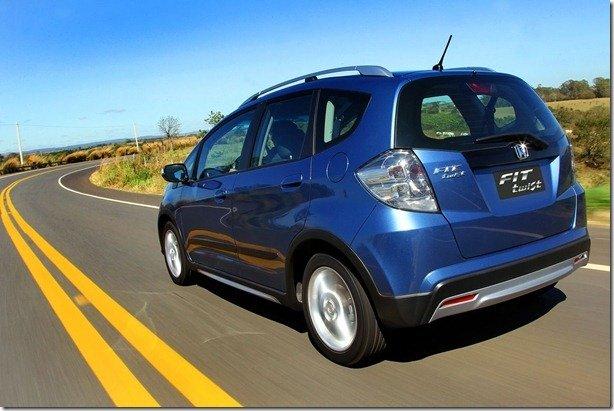 Honda lança Fit Twist 2014