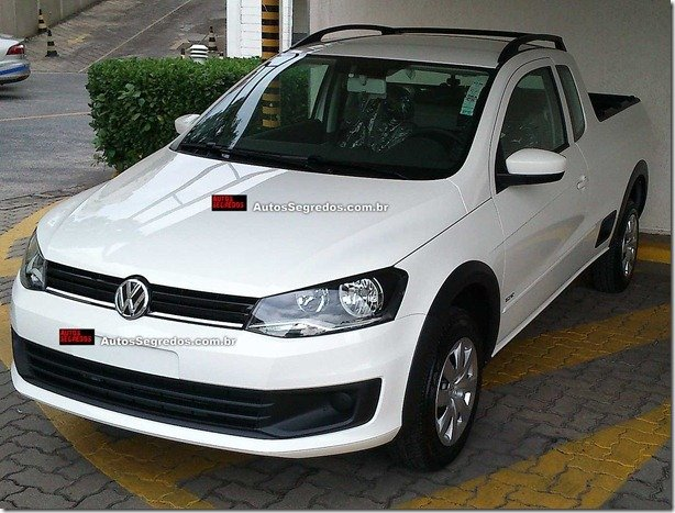 Nova Volkswagen Saveiro já está nas concessionárias da marca