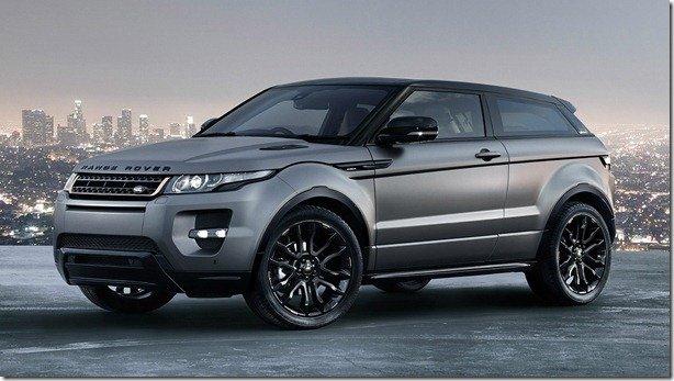 Range Rover Evoque Victoria Beckham terá duas unidades vendidas no Brasil