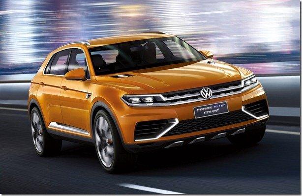 Volkswagen CrossBlue Coupé tem imagens vazadas