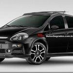 Fiat Punto terá versão Blackmotion