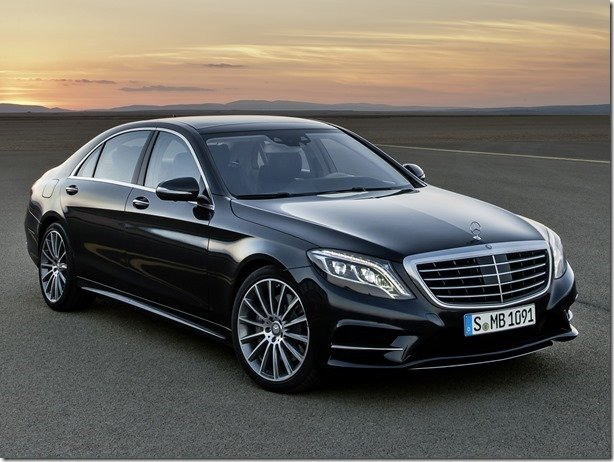 Mercedes revela o novo Classe S