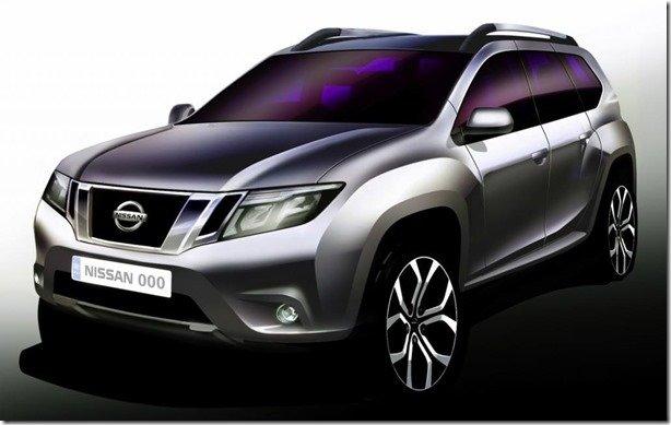 Nissan Terrano renasce baseado no Duster