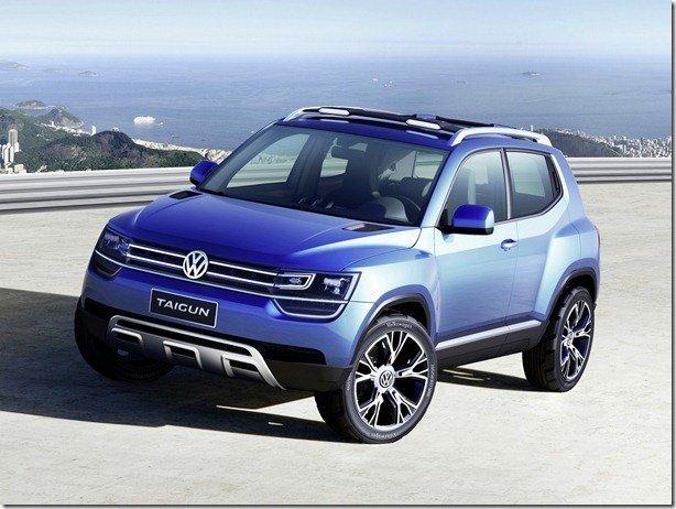 Volkswagen Taigun será lançado em 2016
