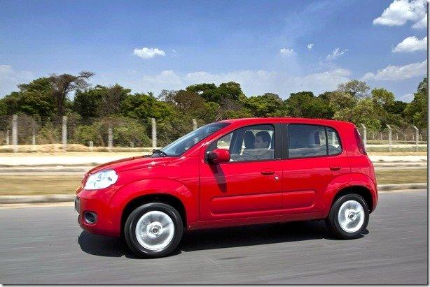 Fiat Uno ganha direção hidráulica nas versões Way e Economy