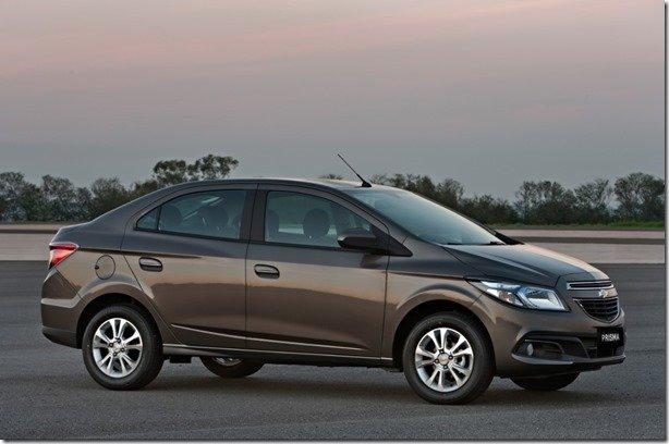 Chevrolet aumenta preços de toda a linha Prisma