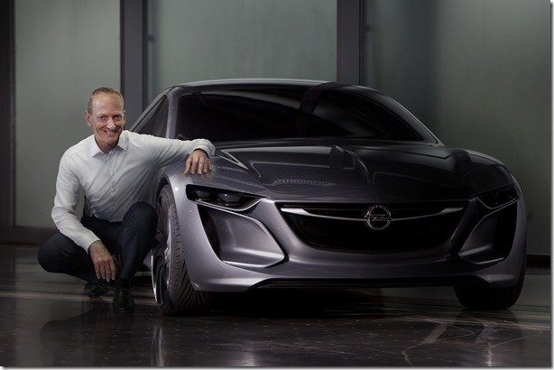 Video – Opel divulga imagem e video do Monza Concept
