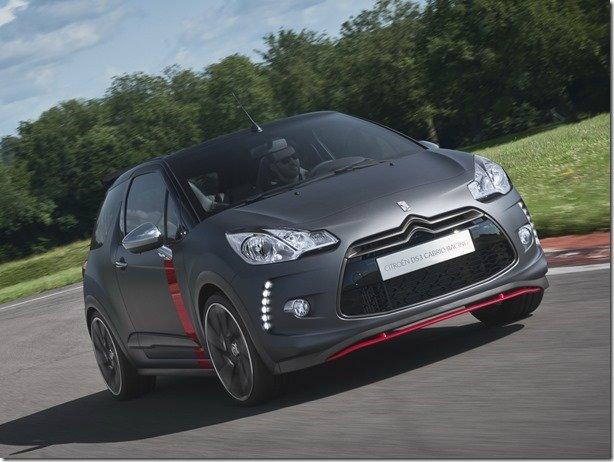 Citroën apresenta o DS3 Cabrio Racing Concept