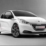 Peugeot revela imagens do 208 Hybrid FE