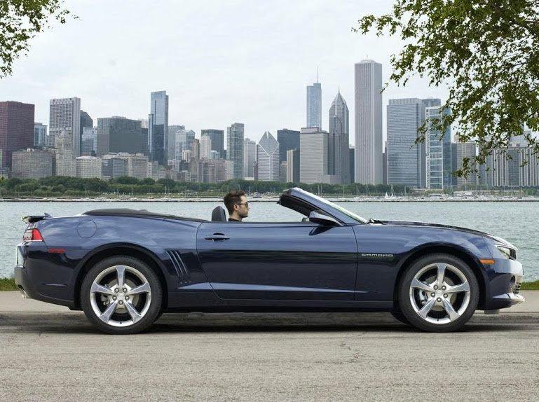Chevrolet revela o Camaro Cabriolet 2014