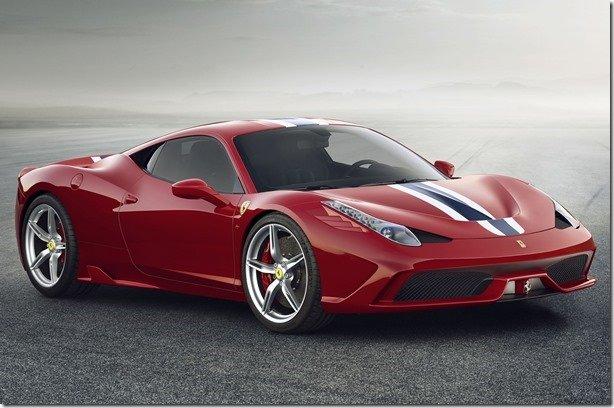 Ferrari revela o 458 Speciale