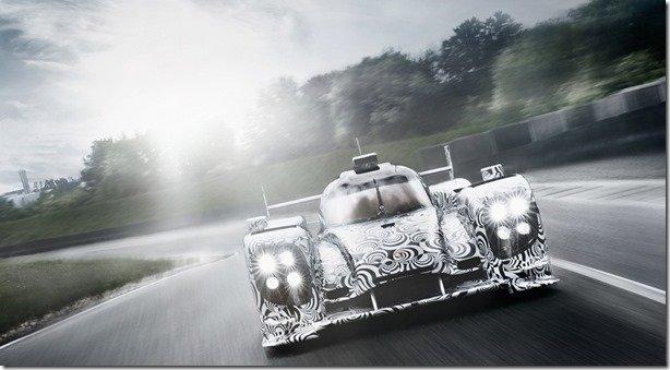 Porsche traz novas fotos de seu protótipo LMP1