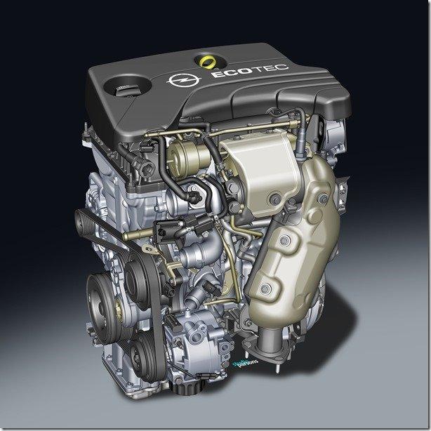 Opel apresenta novo motor 1.0 de três cilindros