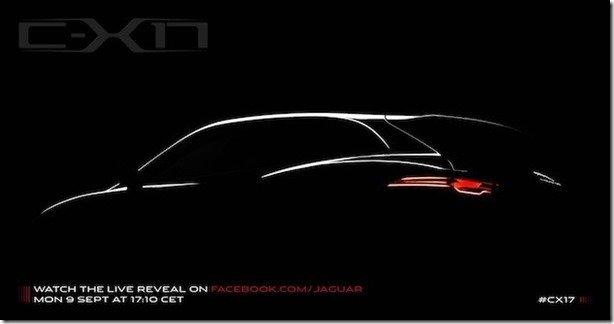 Jaguar antecipa seu SUV com teaser