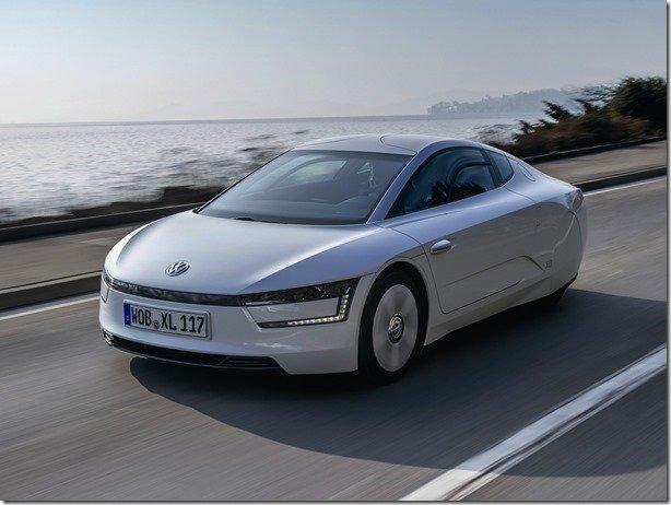 Preço de esportivo: Volkswagen XL1 custará o equivalente a R$ 344 mil