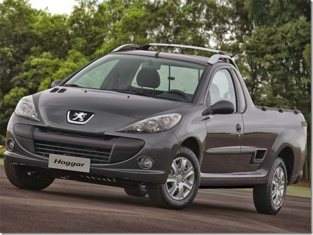 Peugeot Hoggar e 207 Sedan 2014 passam a ser oferecidos nas versões Active e Allure