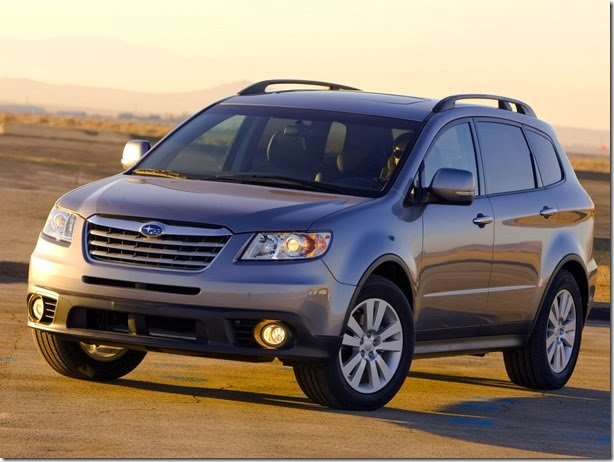 Subaru Tribeca sai de linha em janeiro