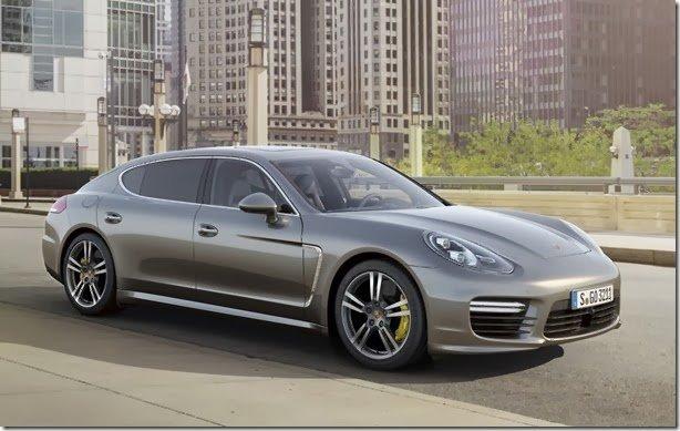 Porsche apresenta o novo Panamera Turbo S