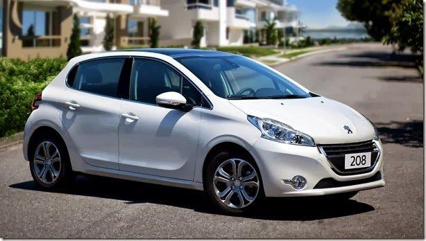 Peugeot 208 terá motor 1.0 de três cilindros