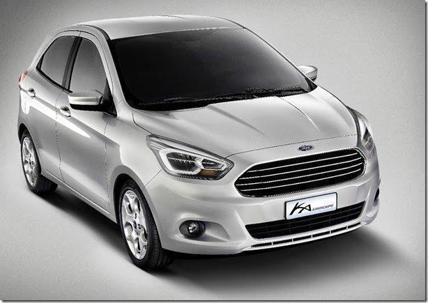 Este é o Ford Ka Concept