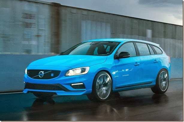 Volvo apresenta o V60 Polestar