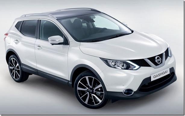 Nissan Qashqai ganha nova geração
