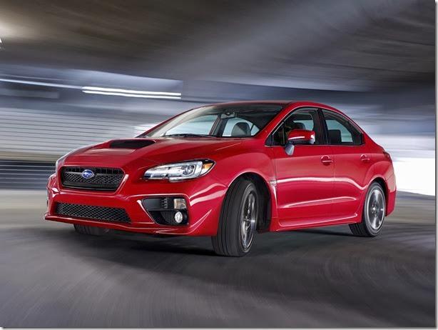 Este é o novo Subaru WRX