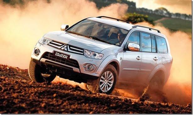 Mitsubishi Pajero Dakar 2014 também tem novidades