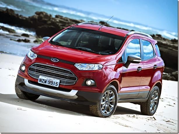 Ford EcoSport passa por recall nos pneus