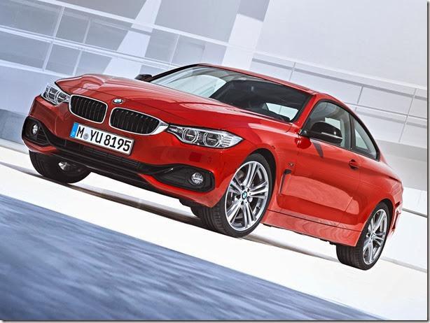 BMW Série 4 chega ao Brasil por R$ 299.950