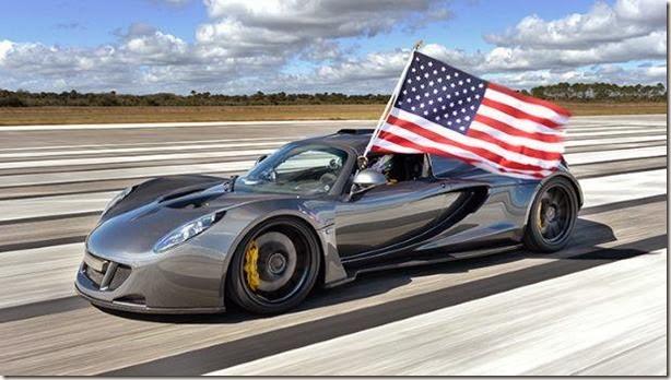 Hennessey Venom GT é o novo carro mais rápido do mundo