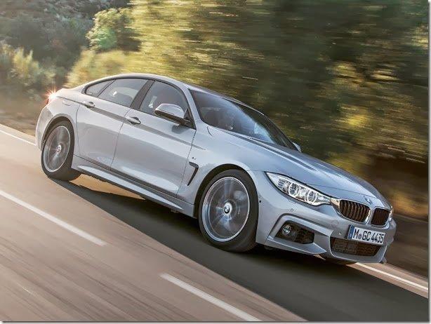 BMW Série 4 Gran Coupé é revelado