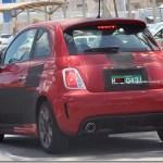 Fiat 500 Abarth passa por ultimos testes antes do lançamento