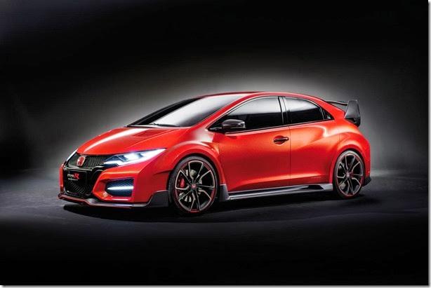Honda Civic Type-R Concept é revelado em Genebra