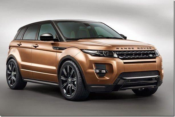 Range Rover Evoque ganha câmbio automático de 9 marchas no Brasil