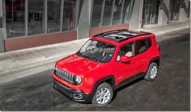Esta é a primeira imagem do Jeep Renegade