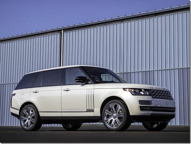 Land Rover planeja versão mais luxuosa para seu modelo topo de linha